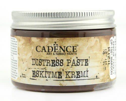 Cadence Cadence Distress pasta Maroon - Kastanjebruin 01 071 1301 0150 150 ml