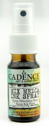 Cadence Cadence Mix Media Inkt spray Donker bruin 01 034 0011 0025 25 ml