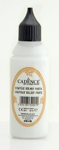 Cadence Cadence Contour Relief Pasta wit 01 089 0001 0050 50 ml
