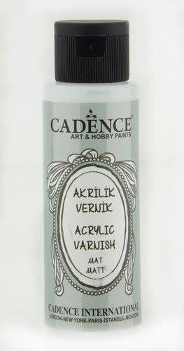 Cadence Cadence Acryl vernis mat 02 002 0001 0070 70 ml