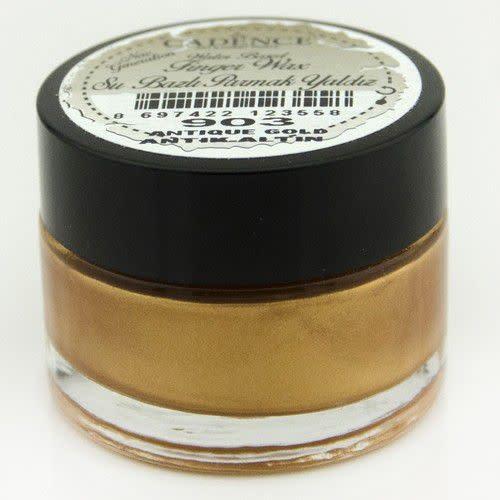 Cadence Cadence Water Based vinger Wax Antiek goud 01 015 0903 0020 20 ml
