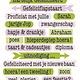CraftEmotions CraftEmotions clearstamps A6 - tekst typewriter gefeliciteerd (NL)