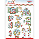 3D Cutting Sheet - Yvonne Creations - Wintry Christmas - Christmas Home