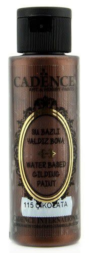 Cadence Cadence Gilding Metallic acrylverf Chocolade 01 035 0115 0070 70 ml