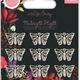 Craft consortium Craft Consortium Midnight Flight Metal Charms Moths (CCMCHRM029)