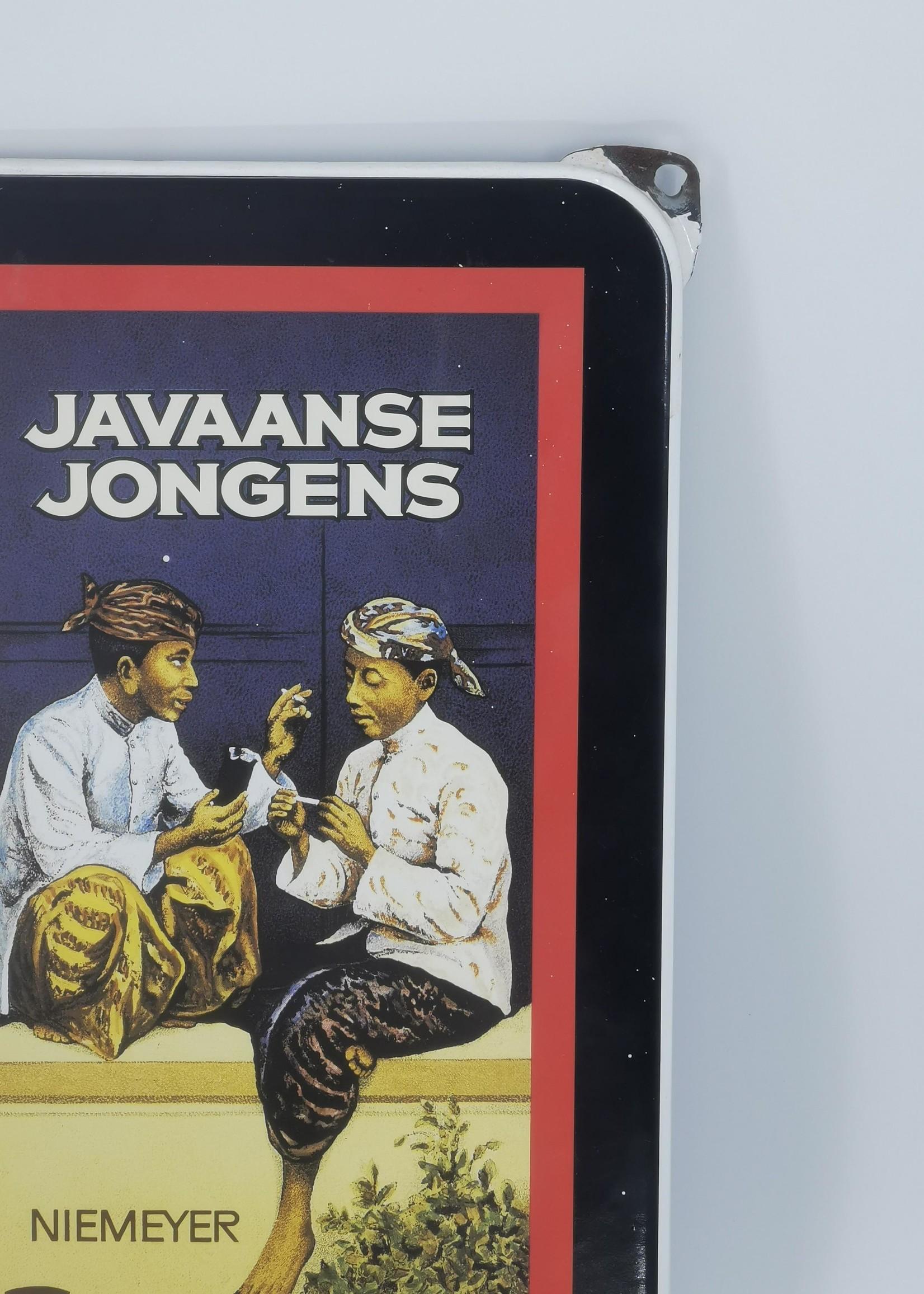 Javaanse jongens Javaanse jongens Plaquette