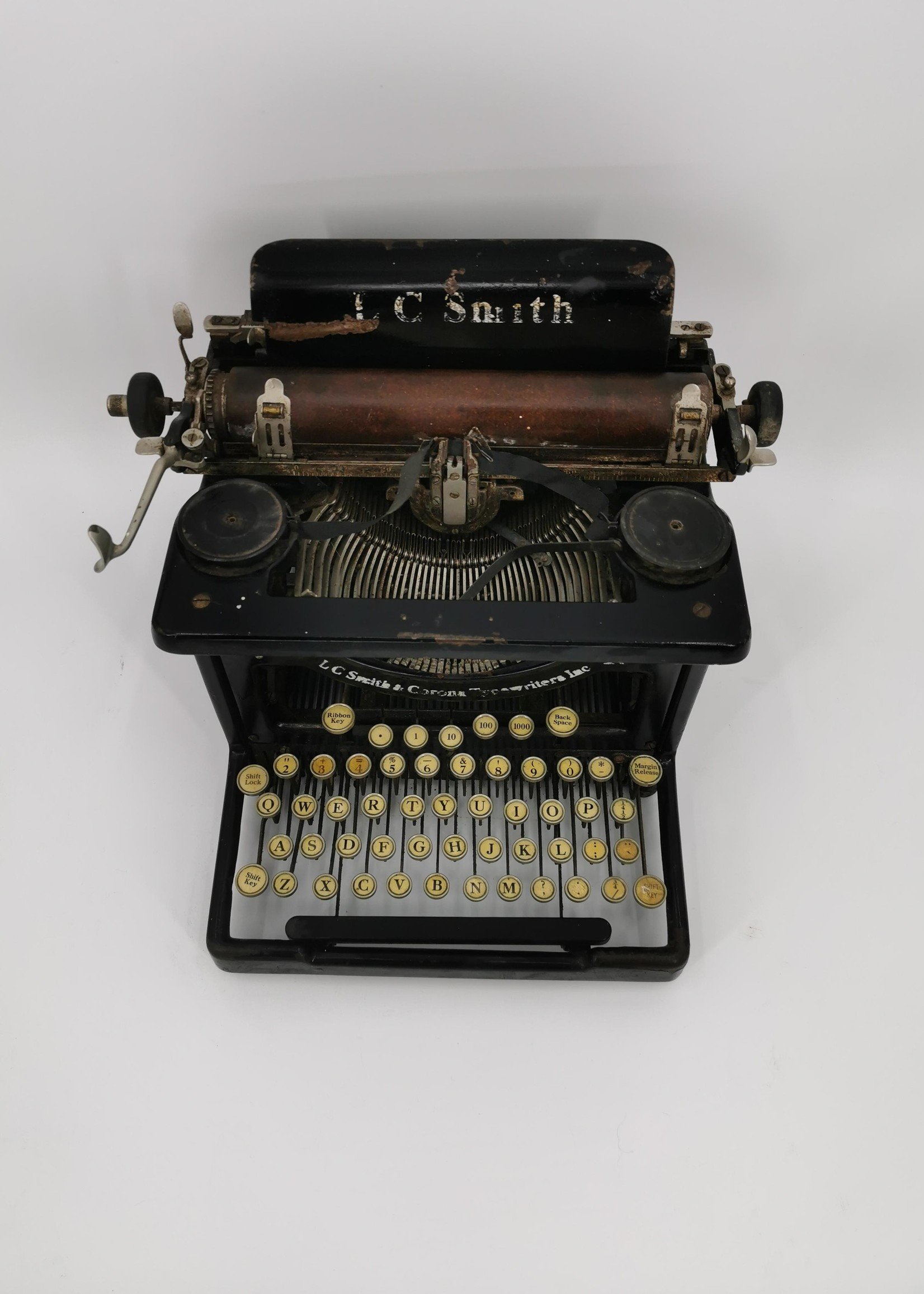LC Smith & Corona typemachine