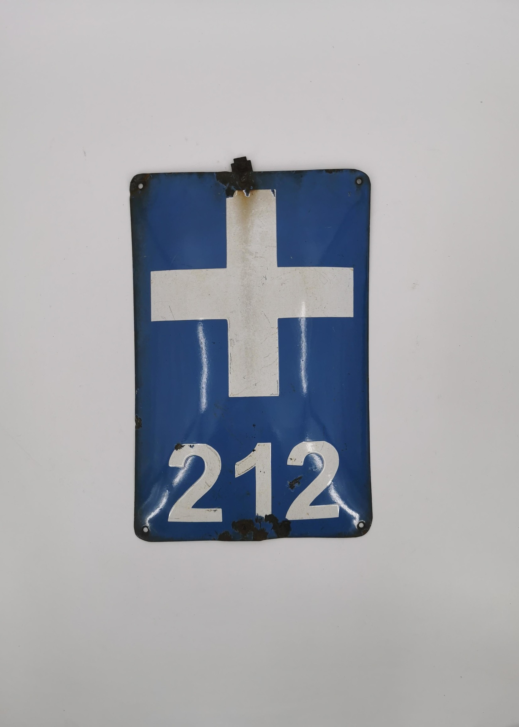 Emaille bord 212