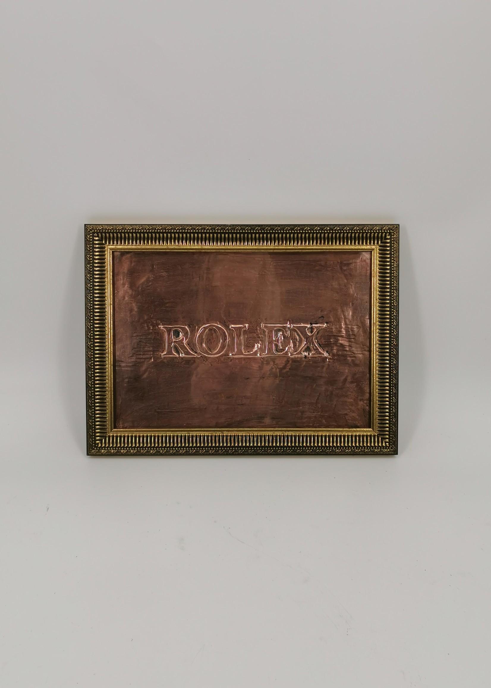Rolex reclamebord