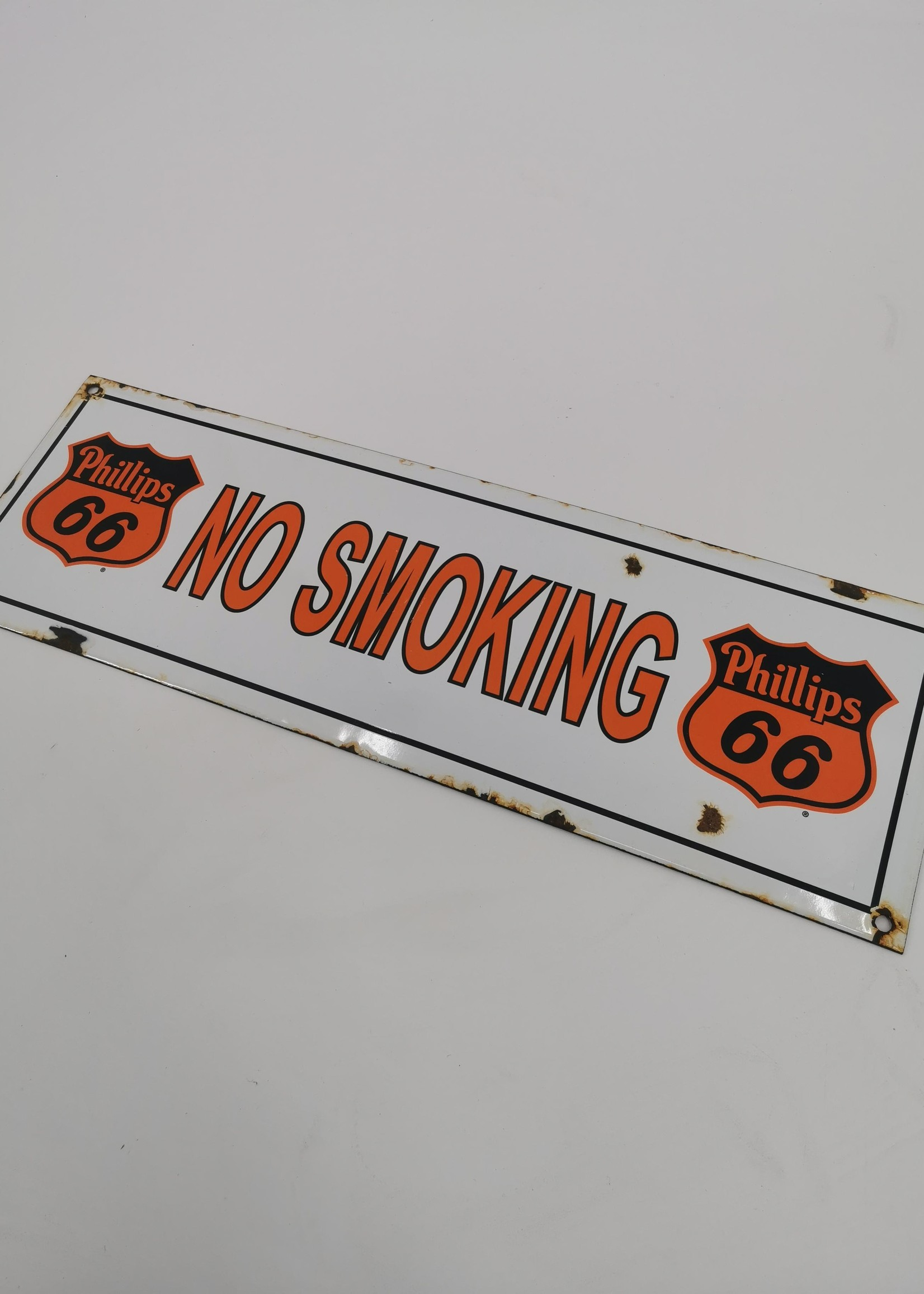 Philips 66 No smoking bord