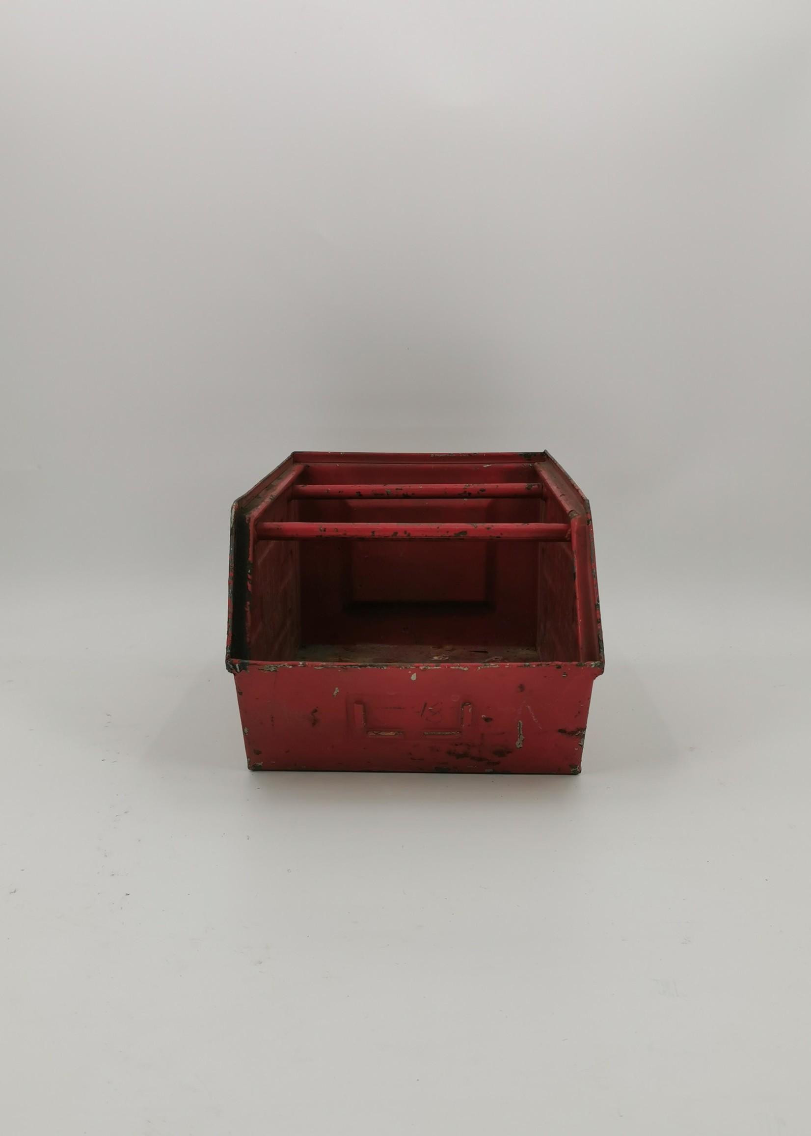 Magazijnbak rood