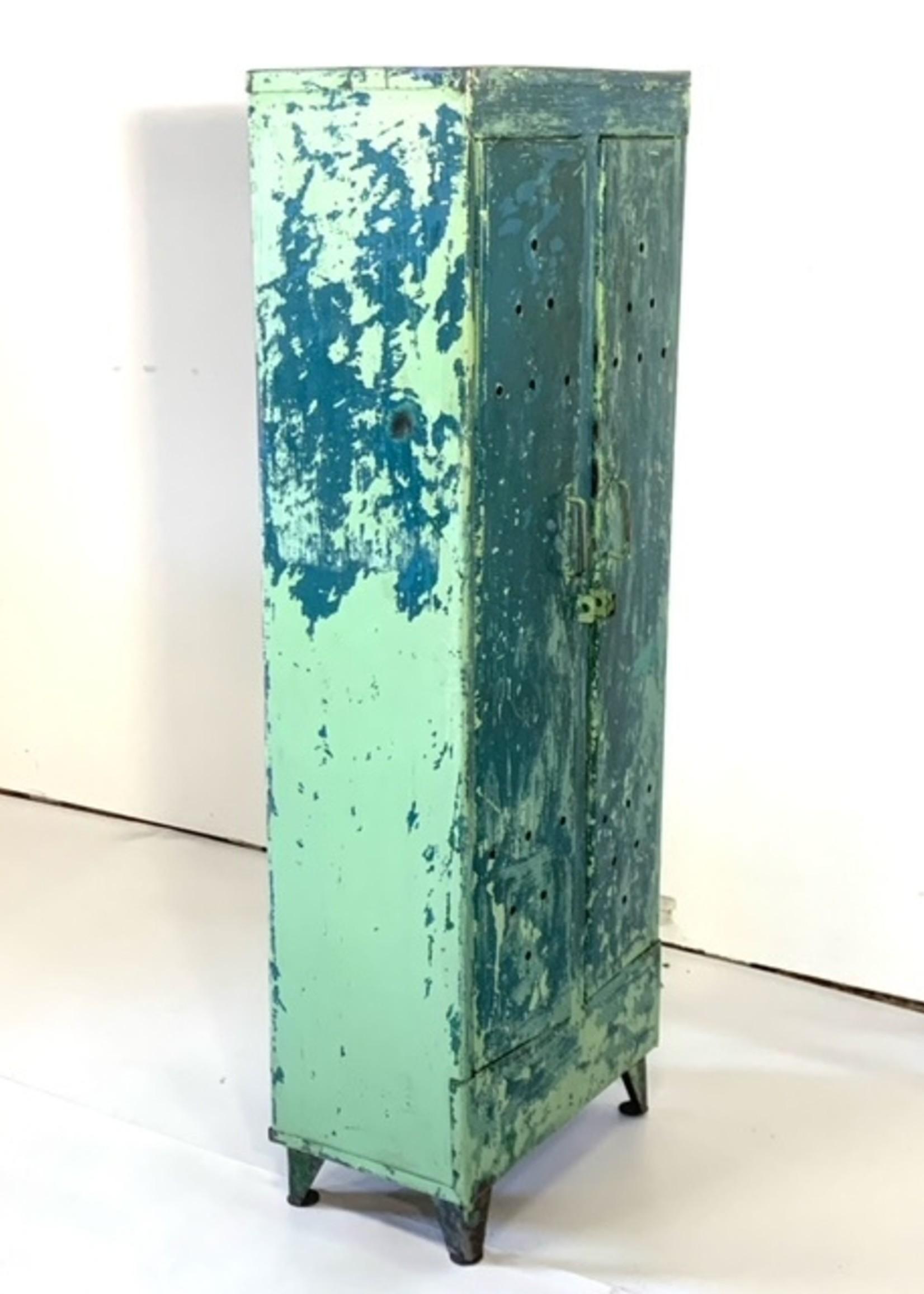 Groene lockerkast