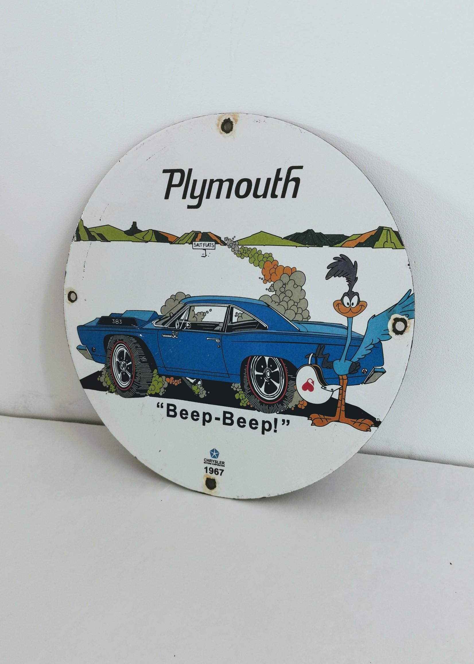 Plymouth Roadrunner bord
