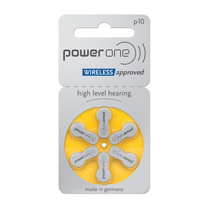 Power One Power One  P10 (PR70) Geel hoortoestel batterij