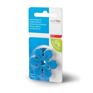 Audifon Audifon 675 (PR44) Blauw hoortoestel batterij