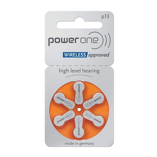 Power One Power One 13 (PR48) Oranje hoortoestel batterij