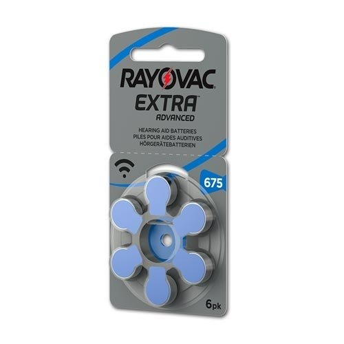 Rayovac Rayovac Extra Advanced 675 (PR44) Blauw
