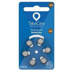 TakeCare TakeCare 312 (PR41) Bruin batterij gehoorapparaat