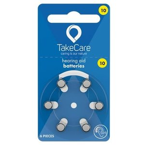 TakeCare TakeCare 10 (PR70) Geel batterij gehoorapparaat