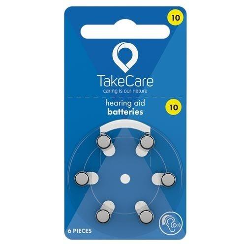 TakeCare TakeCare10 (PR70) Geel batterij gehoorapparaat
