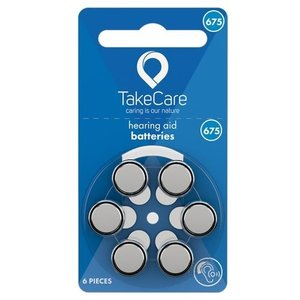 TakeCare TakeCare 675 (PR44) Blauw batterij gehoorapparaat