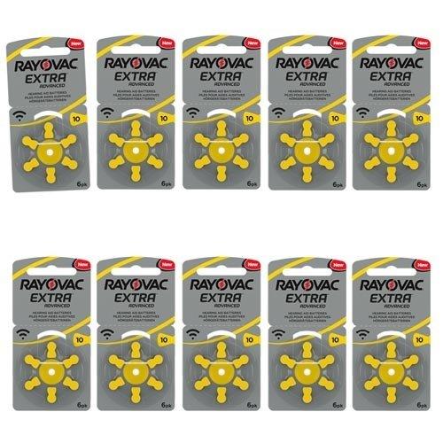 Rayovac Rayovac Extra Advanced 10 (PR70) geel Hoortoestel batterij Voordeelpakket
