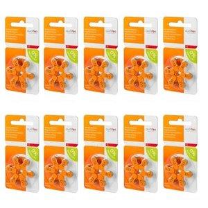 Audifon Audifon 13 (PR48) Oranje hoortoestelbatterij - Voordeelpakket