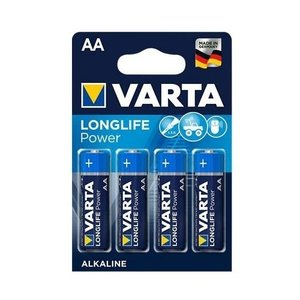 Varta Varta Longlife AA batterijen LR06