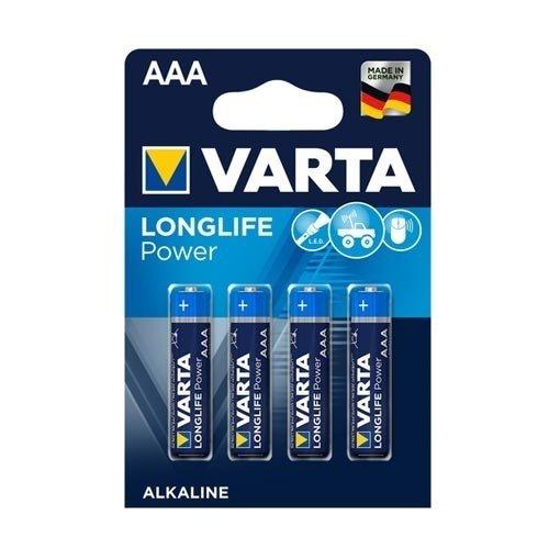 Varta Varta Longlife AAA batterijen LR03 blister van 4 stuks