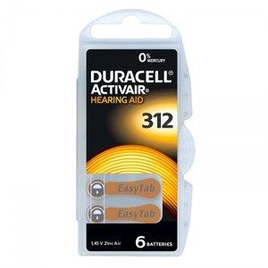 Duracell 312 hoorbatterijen Duracell ActiveAir