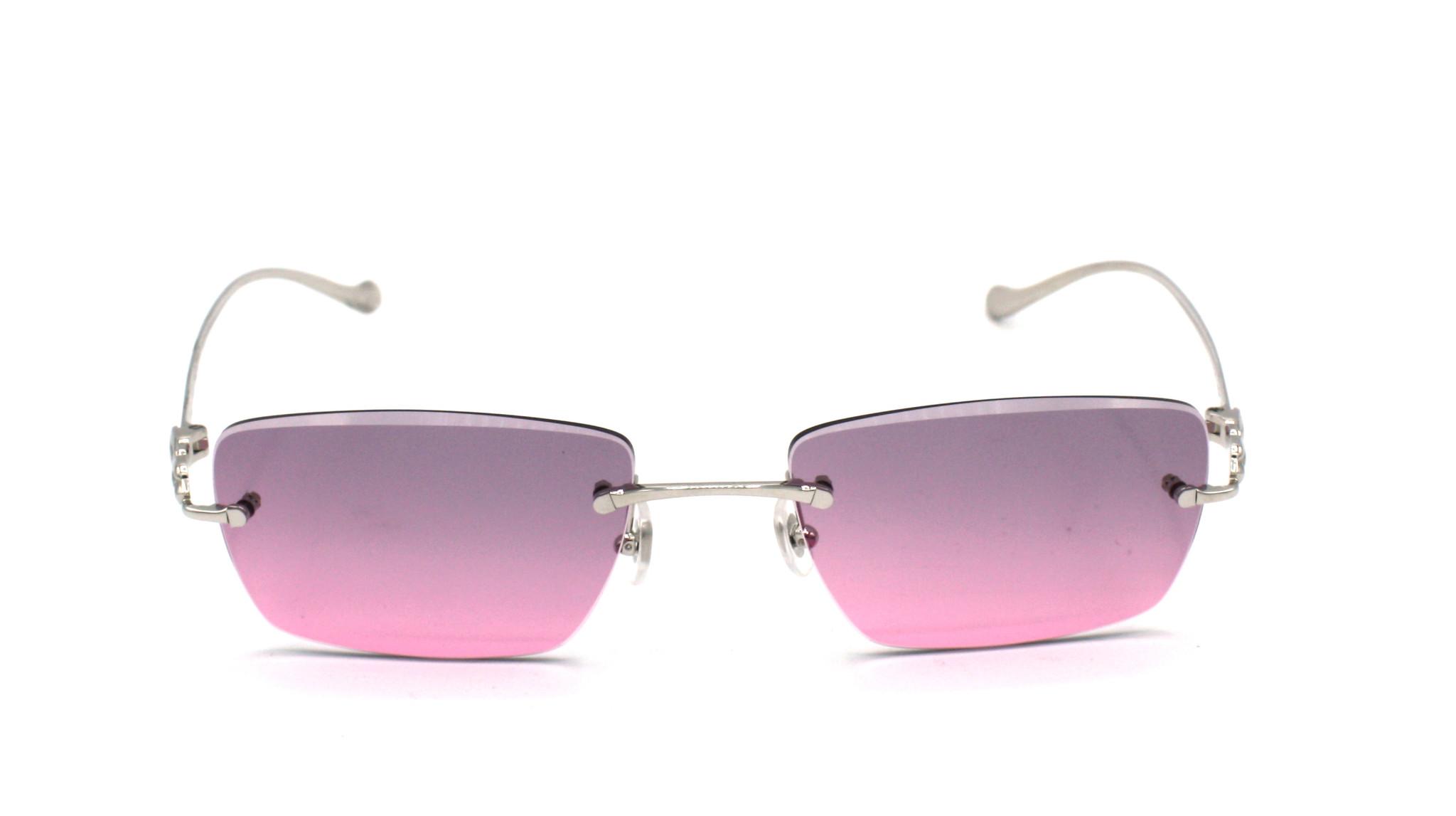 Cartier - CT0058O - 003 Pink Stone Diamond Cut-1