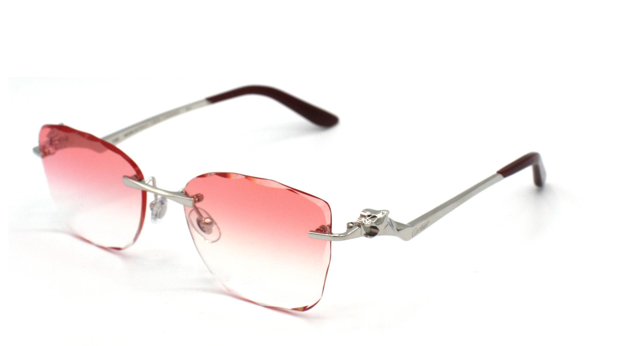 Cartier - CT0120O - 003 Pink Sky Degrade Special Diamond Cut-2