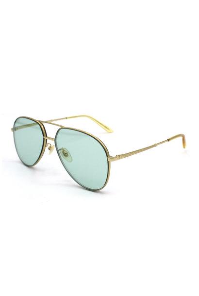 Gucci - GG0356S - 004 - Gold Green
