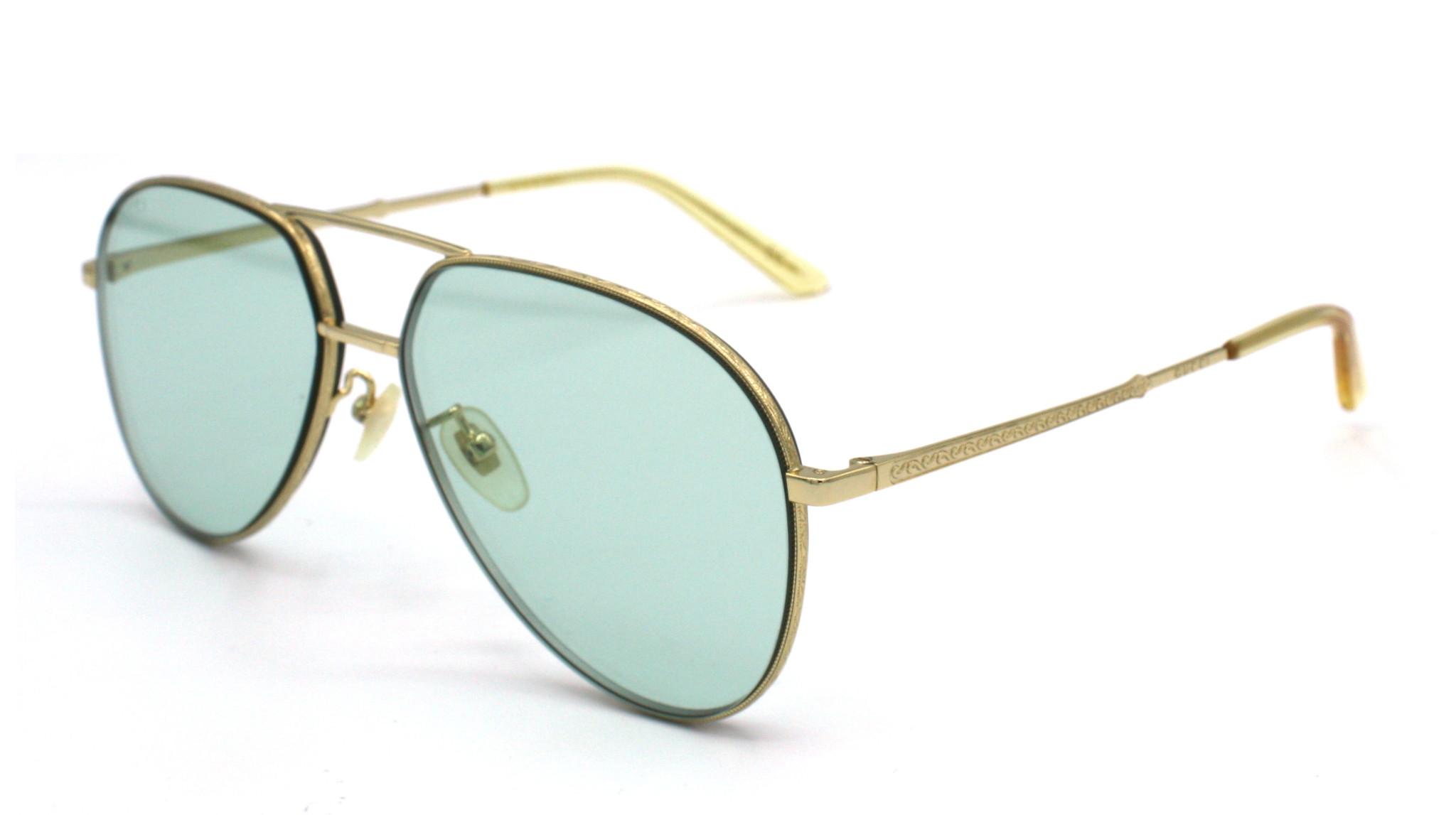 Gucci - GG0356S - 004 - Gold Green-1