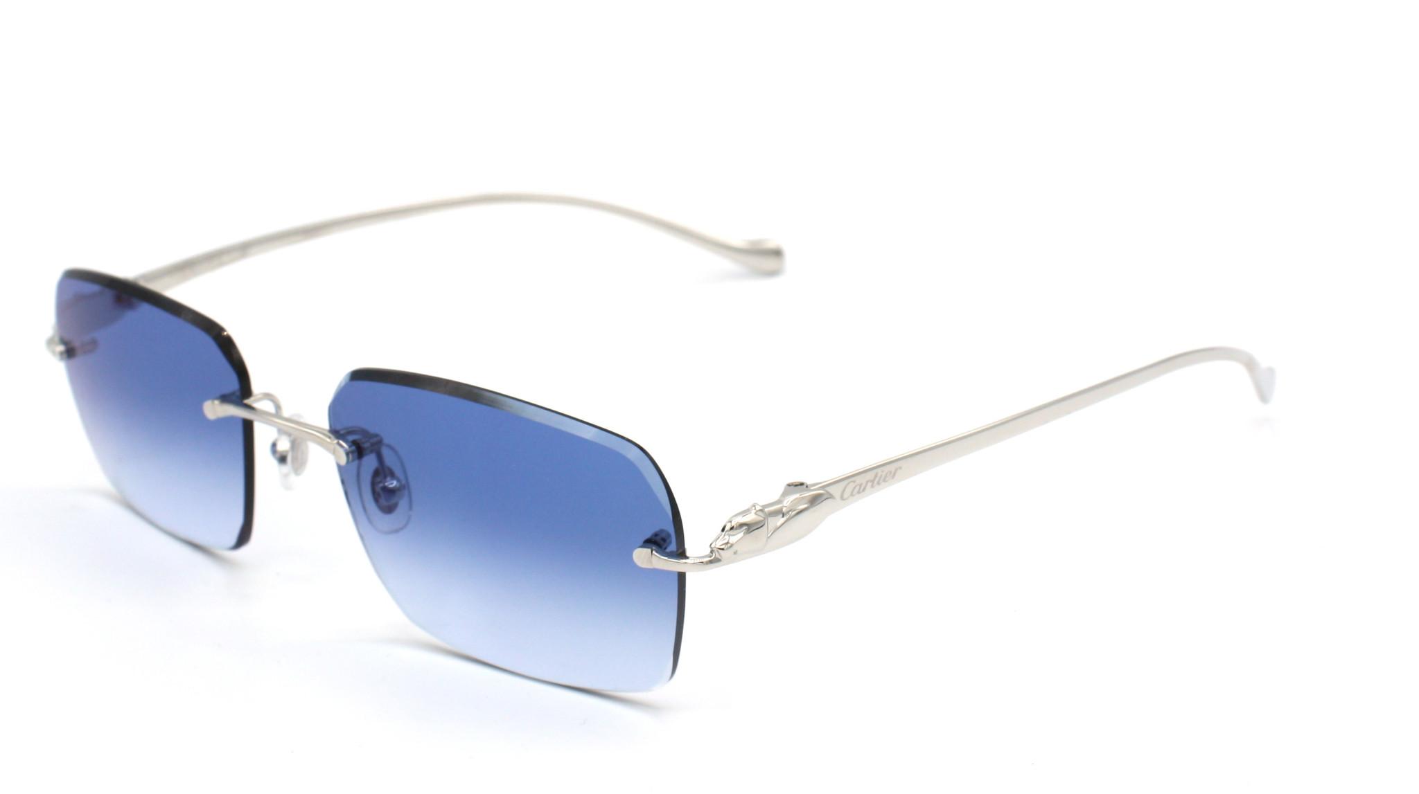 Cartier - CT0061O - 003 - Marlin Greyish Blue Diamond Cut-2