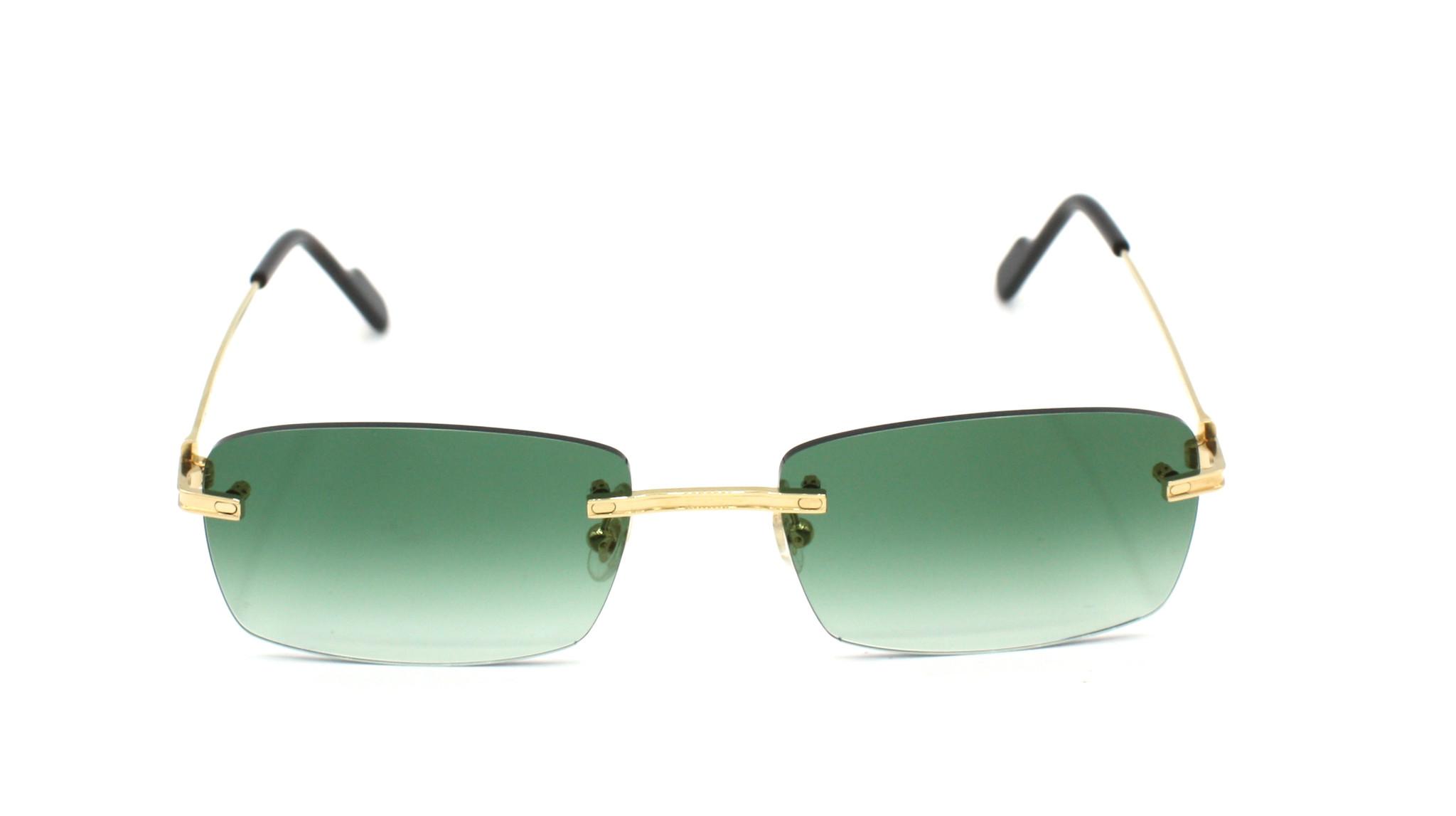 Cartier - CT0259O - 002 Green Degrade-1