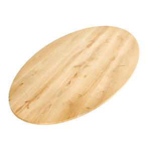 Ovaal tafelblad