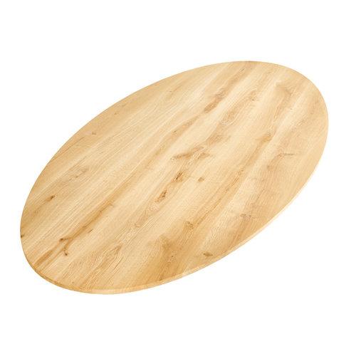 Kies uw ovaal tafelblad op maat gemaakt.