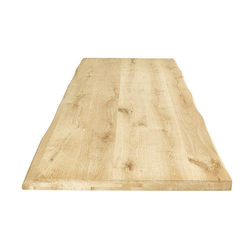 Kies uw boomstam tafelblad op maat gemaakt.