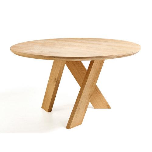 Een ronde tafel op maat gemaakt!