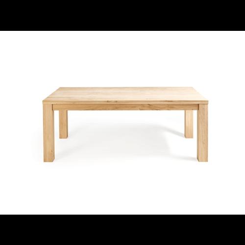 Een eiken tafel op maat gemaakt!