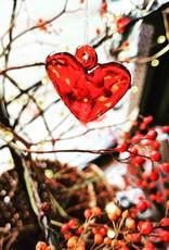 Räder Glass Heart Hanger