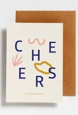 Doosje Kaarten met envelop (Letters) - 12 stuks