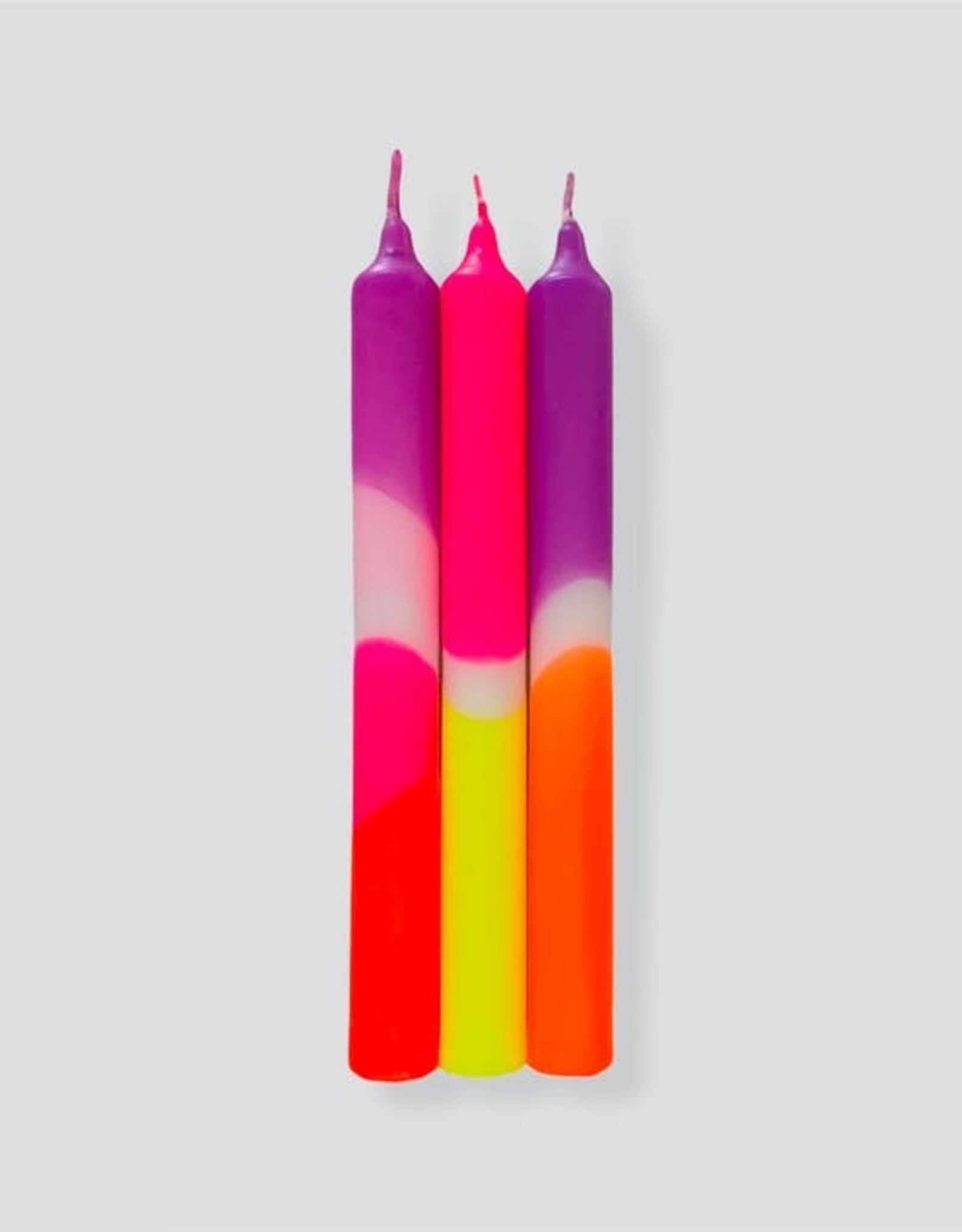 Pink Stories Dip Dye Kaars (Vegan) - Pink Infusion