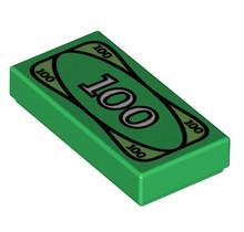 Lego ® onderdeel geld biljet groen- ID 4295260