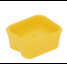 Onderdelen- bakje licht geel