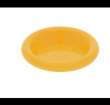 Lego friends onderdelen- schotel donker geel
