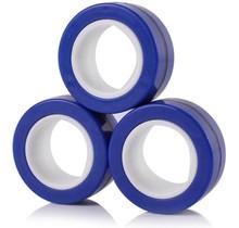 Spinner Fidget - Magnetische Ringen - Fidget Toy - Magic Rings - Blauw