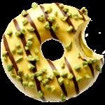 donut worry be happy Donut Mucho Pistachio