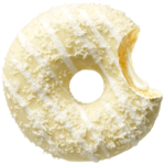 donut worry be happy Donut Ruffallo Cream